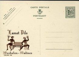 45059 Belgium, Publibel  1189, Jamot Pils Mechelen Malines, Bier Beer - Enteros Postales