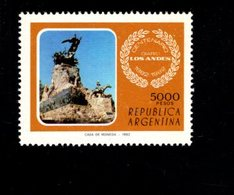 771842729 1982 SCOTT 1396 POSTFRIS  MINT NEVER HINGED EINWANDFREI  (XX) - LOS ANDES NEWSPAPER CENT - Neufs