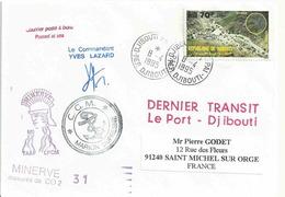YT 650 - Randa - Antilope Oérotrague - Posté à Bord Du MD - Dernier Transit Le Port Djibouti - Djibouti (1977-...)