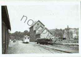 MARTELANGE - Photo Van Campenhout 1958 - Tram - Repro D'époque - Martelange