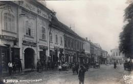 Rimavská Sobota  , Gemer , Fronts Shops , Lichtig , Judaica - Slovakia