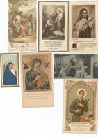 LOT 12 IMAGES RELIGIEUSES + 1 CALENDRIER RECTO VERSO 1943 - Religion & Esotericism