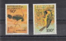 Djibouti Michel Cat.No.  Mnh/** 199/200 Birds - Djibouti (1977-...)