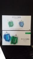 BENETTON Colors Parfum Avec 2 Patch Carte - Perfume Cards