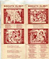 PUBLICITE(BISCUIT OLIBET) - Publicités