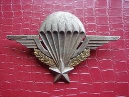 Brevet Parachutiste Matriculé . Algérie 1956 . Drago O. Métra - Hueste