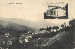 Pays Div -ref T146- Italie - Italia - Italy - Solzago - Panorama - - Non Classificati