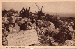 Guerra 1914-18 - Monte S.Michele - La Cima - Fp Nv - Difetto Sul Bordo Inferiore - Guerra 1914-18