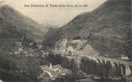 Pays Div -ref T144- Italie - Italia - Italy - San Dalmazzo Di Tenda - Cachets - Cachet Militaire Au Verso - - Italia