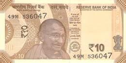 10 Rupee (Rupie) Indien 2018 - India