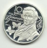 2010 - San Marino 10 Euro - Schumann - Senza Confezione - San Marino