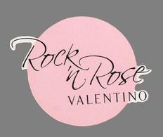 Carte Publicitaire - Advertising Card -   Rock ' N Rose De Valentino - Perfume Cards