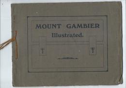 Mount Gambier Vieille Illustration Dans Son Jus - Alte Papiere