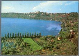 °°° Cartolina N. 127 Castelgandolfo Il Lago E Panorama Viaggiata °°° - Autres