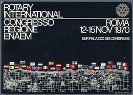 °°° Cartolina N. 128 Roma Rotary International Viaggiata °°° - Mostre, Esposizioni
