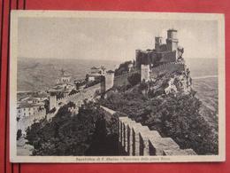 San Marino - Panorama Della Prima Rocca - San Marino
