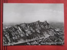 San Marino - Monte Titano Visto Dall'aereo / Flugaufnahme - San Marino