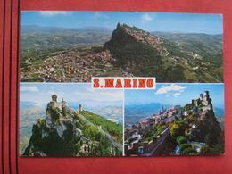San Marino - Mehrbildkarte / Nachgebühr, Nachporto, Nach-Taxiert - San Marino