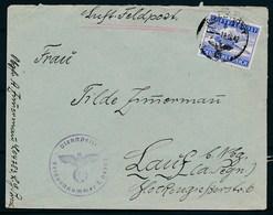 DEUTSCHES REICH - Luftfeldpost Dd 18-10-1942  (ref. 1611) - Poste Aérienne