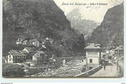 Linea Del Sempione - Iselle E Il Fletschorn - Italia