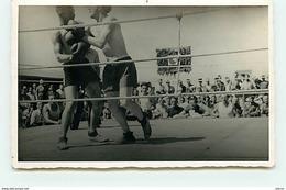 Camp De Prisonniers - Boxe - Combat - Gross-Auheim - Boxing
