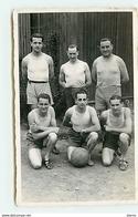 Camp De Prisonniers - Hommes En Tenue De Sport - Basket Tournoi 1944 - Gross-Auheim - Soccer
