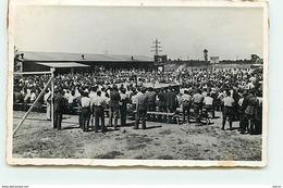 Camp De Prisonniers  - Gross-Auheim - Vue D'ensemble Du Kdo 420 - Ring De Boxe - 1943 - Autres