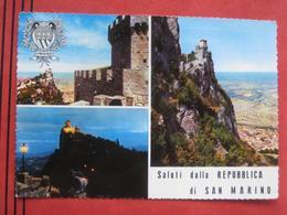 """San Marino - Mehrbildkarte """"Saluti Dalla Repubblica Di San Marino"""" - San Marino"""