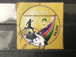 Zambia - WK Voetbal (4050) 2010 - Zambia (1965-...)