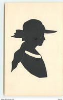 Silhouette N°11 -  Femme Portant Un Chapeau - Silhouettes