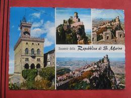 """San Marino - Mehrbildkarte """"Souvenir Della Repubblica Di S. Marino"""" - San Marino"""