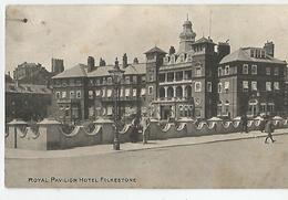 Angleterre Kent Folkestone Royal Pavillon Hotel 1907 - Folkestone
