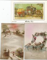 LOT 11   CARTES - Holidays & Celebrations