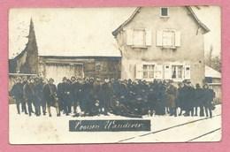 88 - Vosges - Alsace - Carte Photo à Localiser - VOGESEN WANDERER - Soldats Allemands - Stahlhelm - Guerre 14/18 - Frankrijk