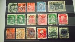 P115 PLAQUETTE TIMBRES PERFORES DU MONDE  A TRIER BELLE COTE DÉPART 1€ - Stamps