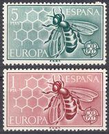 ESPAÑA - SPAGNA - SPAIN - ESPAGNE- 1962 - Serie Completa Di 2 Valori Nuovi MNH: Yvert 1119/1120. - 1931-Oggi: 2. Rep. - ... Juan Carlos I