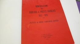 P116 POTHION - BUREAU DE POSTES FRANÇAIS 1852-1876 DÉPART 5€ - Philately And Postal History