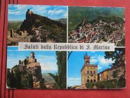 """San Marino - Mehrbildkarte """"Saluti Dalla Repubblica Di S. Marino"""" - San Marino"""