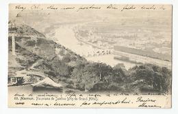 Belgique - Namur Panorama De Jambes Pris Du Grand Hotel 1904 - 2scans - Namur