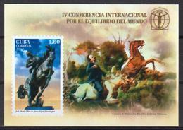 Cub2019 IV International Summit About World's Balance S/S MNH - Cuba