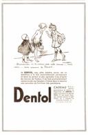 """PUB """" DENTOL """" Par POULBOT   1933 ( 11 ) - Other"""