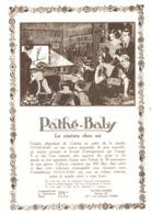 "PUB    "" PATHE-BABY ""    1923 ( 2 ) - Photographie"