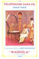 "PUB TELEPHONIE SANS FIL  "" RADIOLA ""    1923 ( 3 ) - Technical"