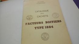 P121 POTHION - FACTEURS BOITIERS TYPE 1884 DÉPART 5€ - Philately And Postal History