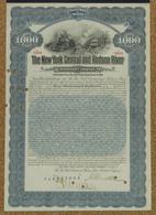 1912 New York Central And Hudson Railroad. - Spoorwegen En Trams