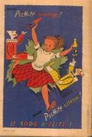Publicité Pour Les Sodas PSCHITT Orange Et Citron - Publicités