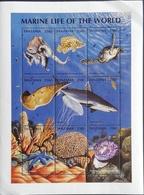 Tanzania  1998 Marine Life - Tanzania (1964-...)