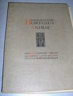 """« Hortulus Animae""""  Tome III – Ed. A. Oosthoek Utrecht And Martinus Nijhoff The Hague (1910) - Livres, BD, Revues"""