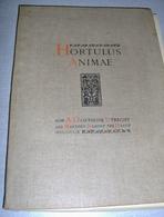 "« Hortulus Animae""  Tome III – Ed. A. Oosthoek Utrecht And Martinus Nijhoff The Hague (1910) - Books, Magazines, Comics"