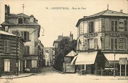 VAL D'OISE  ARGENTEUIL   Rue Du Port - Argenteuil